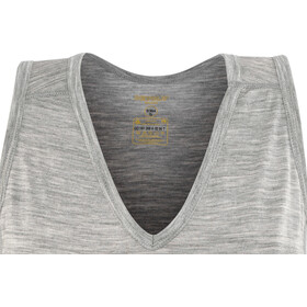 Devold W's Breeze Singlet Grey Melange